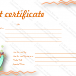 Thank You Gift Certificate Template (Calm, Editable Template in Word)
