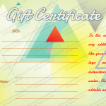 Triangles-Shaped-Art-Gift-Certificate-Template