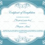 Completion Certificate (Lavender, Editable Certificate)