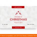 Christmas-Certificate-Template-(Star,-#18387)