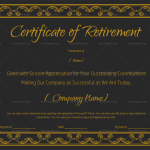 Certificate of Retirement Template (#928)