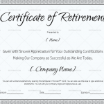 Certificate of Retirement for teacher, army, navy or any other… (#924)