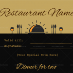 Dinner-for-two-certificate-template-1-Black