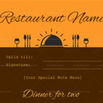 Dinner-for-two-certificate-template-1-Brown-(Microsoft-Word)