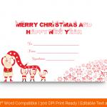 Blank-Christmas-Gift-Certificate-Template-(Santa,-1871)