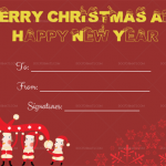 Blank-Christmas-Gift-Certificate-Template-(Santa,-1871)—Red