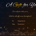 Christmas-Gift-Certificate-Template-Flaying-Santa-Claus-Themed