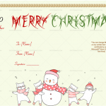 Dancing-Snow-Man-Christmas-Gift-Certificate