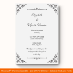 Wedding-Announcement-Template-#1858