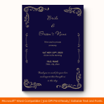 Wedding-Announcement-Template-#1860
