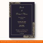 Wedding-Announcement-Template-#1863