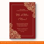 Wedding-Announcement-Template-#1864