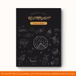 Dinner Menu Template (Simple, Printable)