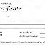 Dollar Gift Certificate Template (MS Word)