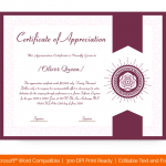 Certification of Appreciation for Employees (#1679)