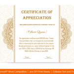 Certification of Appreciation for Employees (#1680)