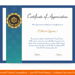 Certification of Appreciation for Employees (#1681)