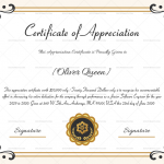 Certification of Appreciation for Employees (#1687) Preview
