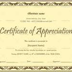 Certificate of Appreciation for Guest Speaker (Burgandy, Printable)