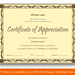 Certificate of Appreciation for Guest Speaker (Burgandy, Printable) p