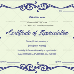 Certificate of Appreciation for Guest Speaker (Mint, Editable in Word)