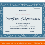 Certificate of Appreciation for Guest Speaker (Moov, Fillable in Word) p