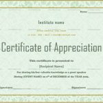Certificate of Appreciation for Guest Speaker (Parrot, Editable)