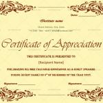 Certificate of Appreciation for Guest Speaker (Pastel, Printable)
