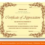 Certificate of Appreciation for Guest Speaker (Pastel, Printable) p