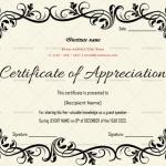 Certificate of Appreciation for Guest Speaker (Pink, Printable In Word)