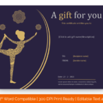 Editable Yoga-gift-certificate-template-in-Word-Format(Preview)