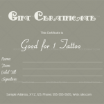 Tattoo-Shop-Gift-Certificate-Template-(Word-and-PDF)