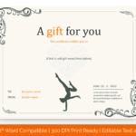 Yoga-gift-certificate-template-in-Word-Format(Preview)