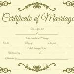Traditional-Corner-Marriage-Certificate-Template-Beige