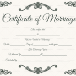 Traditional-Corner-Marriage-Certificate-Template-Grey