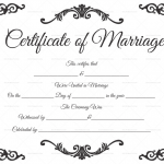 Traditional-Corner-Marriage-Certificate-Template-White