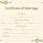 Marriage-Certificate-Template-(Word,-PDF)-Beige