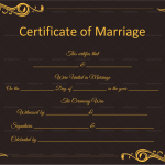 Marriage-Certificate-Template-(Word,-PDF)—Black