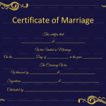 Marriage-Certificate-Template-(Word,-PDF)-Blue