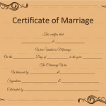 Marriage-Certificate-Template-(Word,-PDF)-Brown