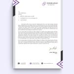 Color Variation HR Letterhead