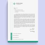 Modern & Stylish HR Letterhead