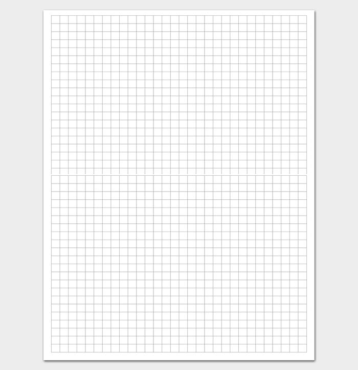 30 x 22 Grid Paper