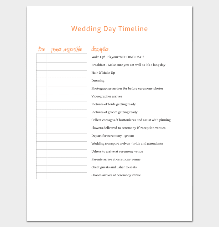 Wedding Day Insurance: 7+ For Word, Excel, PPT, PDF Format