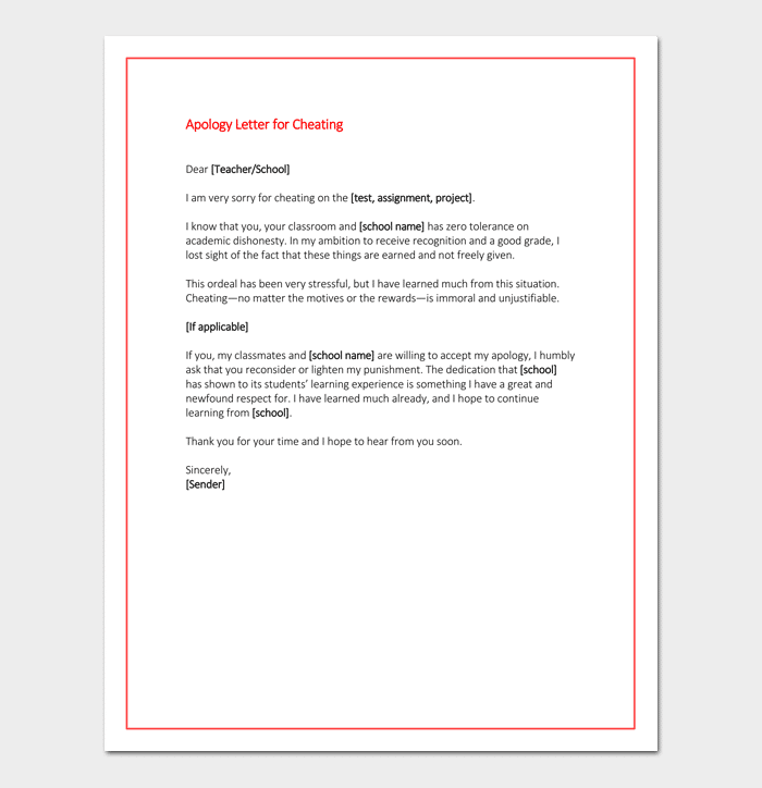 Apology letter to teacher solarfm how to write an apology letter to a teacher with pictures thecheapjerseys Images