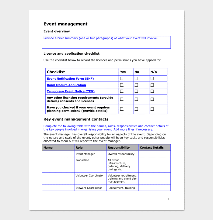 Event action plan template for word excel pdf event management action plan template maxwellsz