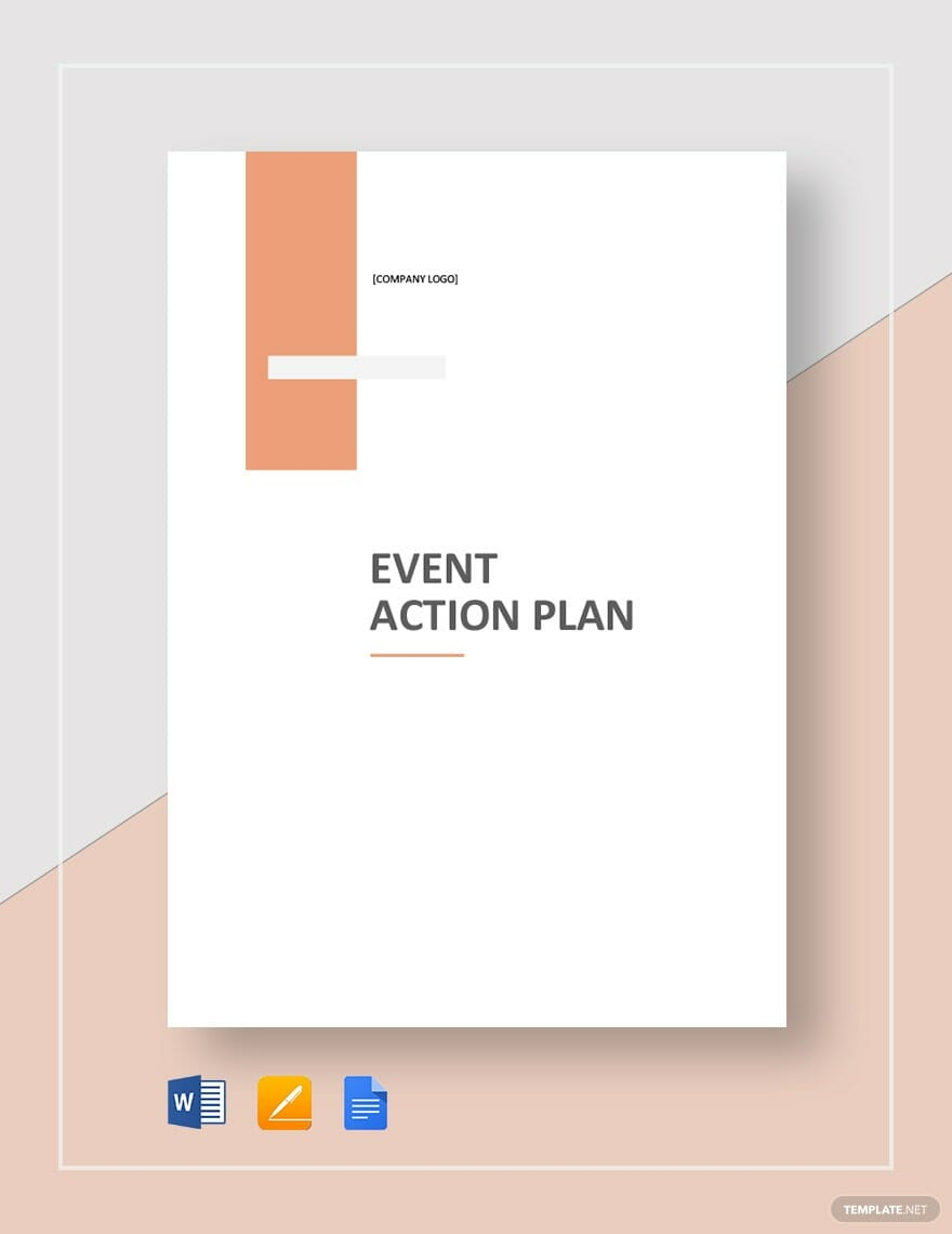 Event Action Plan Template For Word Excel Pdf