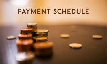 Payment Schedule Template 5 For Word Excel Pdf