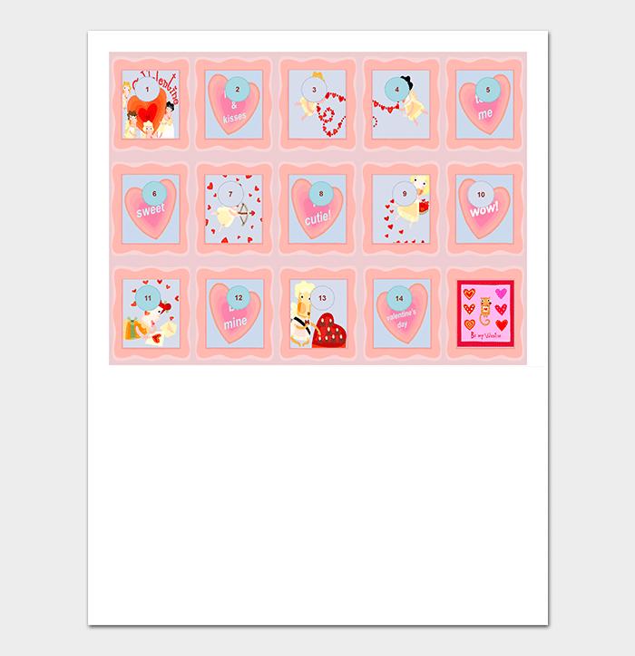 Valentine's Day Countdown Calendar (PPT)