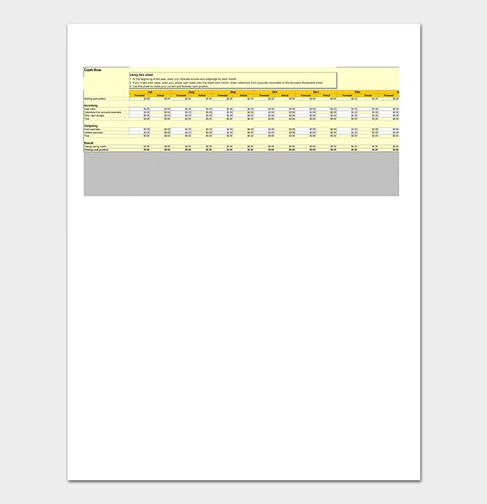 Cash Flow Inventory Tracker
